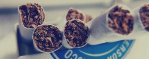 Zigarette nach Weisheitszahn OP